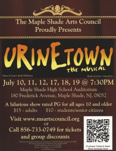 Urinetown Flyer Pic