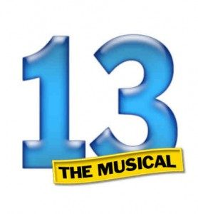 13 Auditions July 24 & 26