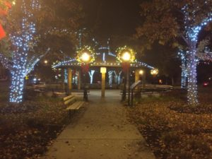 Light Up Gazebo Park